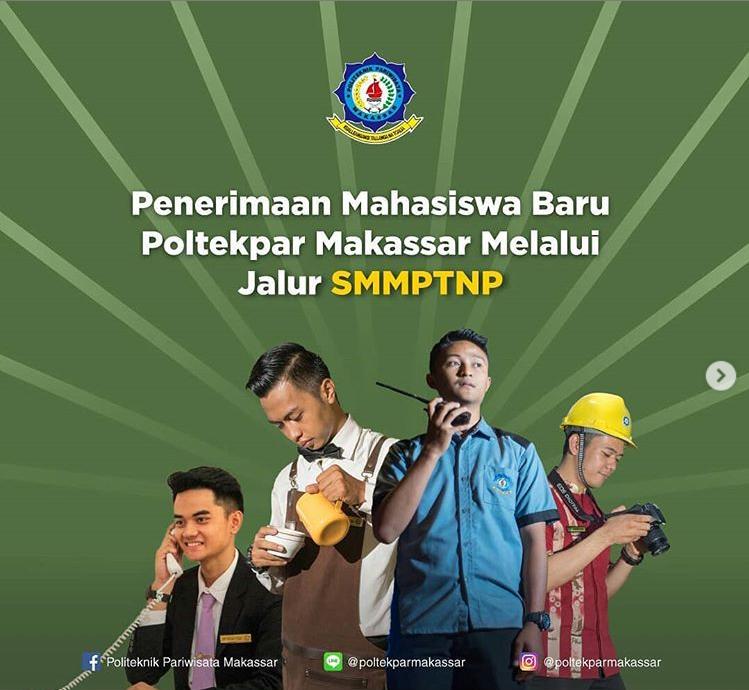Informasi dan Syarat Umum Pendaftaran Mahasiswa Baru melalui jalur SMMPTNP T.A. 2020/2021.